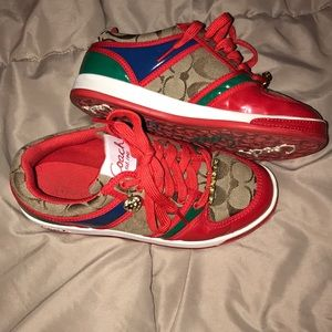 Rare authentic coach sneakers